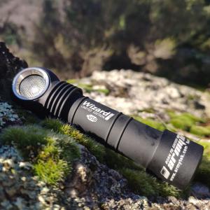 ARMYTEK WIZARD PRO MAGNET USB NICHIA. Обзор фонаря с налобным креплением и клипсой для профессионального использования