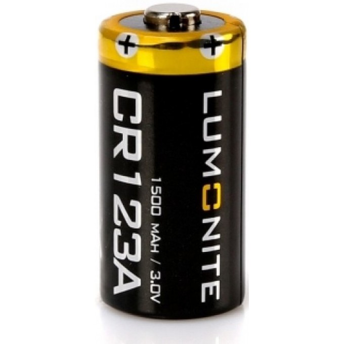 Батарея LUMONITE CR123A 1500 MAH Lumonite